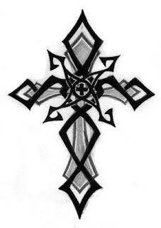Designs Tattoo With Image Cross Tribal Tattoo Designs