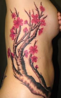 Japanese Tattoos, Cherry Blossom Tattoos, Female Tattoos, Side Body Tattoos, Japanese Cherry Blossom Tattoo, Tattoo Gallery