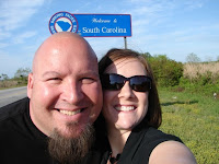 Our famous state shot-entering South Carolina