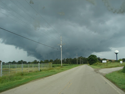 REALLY LOW WALL CLOUD
