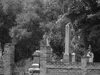 Interesting cemetery