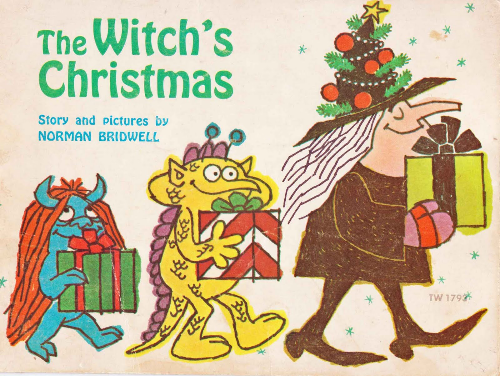 Vintage Kids\' Books My Kid Loves: The Witch\'s Christmas