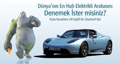 Dünyanın En Hızlı Elektrikli Arabası
