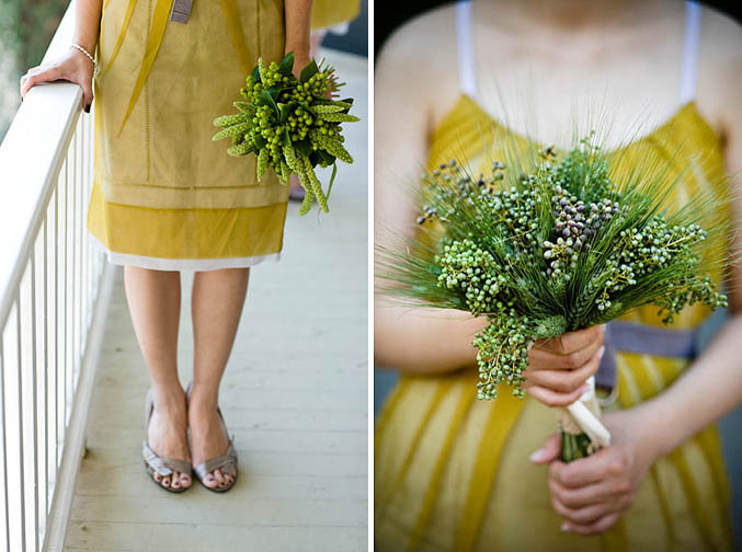 [yellow+bridesmade+dresses]