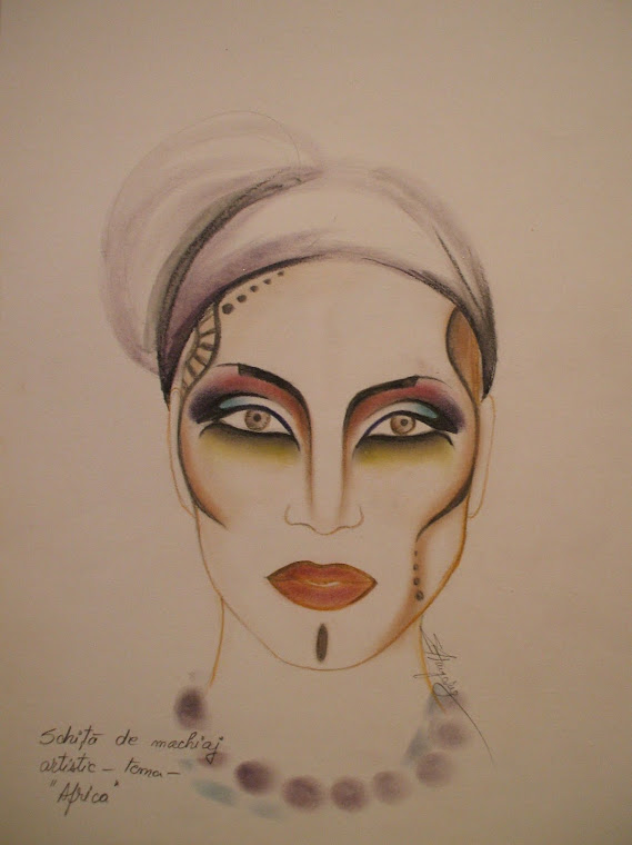 sketch -artistic make-up
