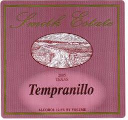 Smith Estate Wine Label