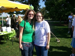 My daughters at the 2009 Lymewalk