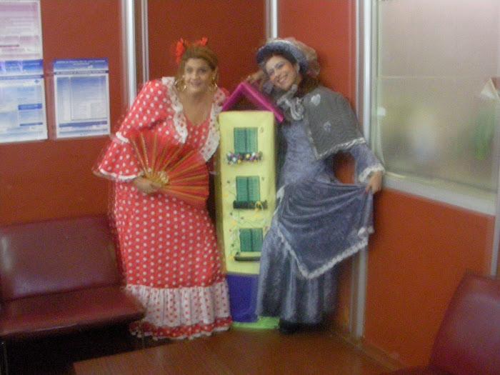 artistas solidarios, cantantes liricas, actrices, clowns, estatuas