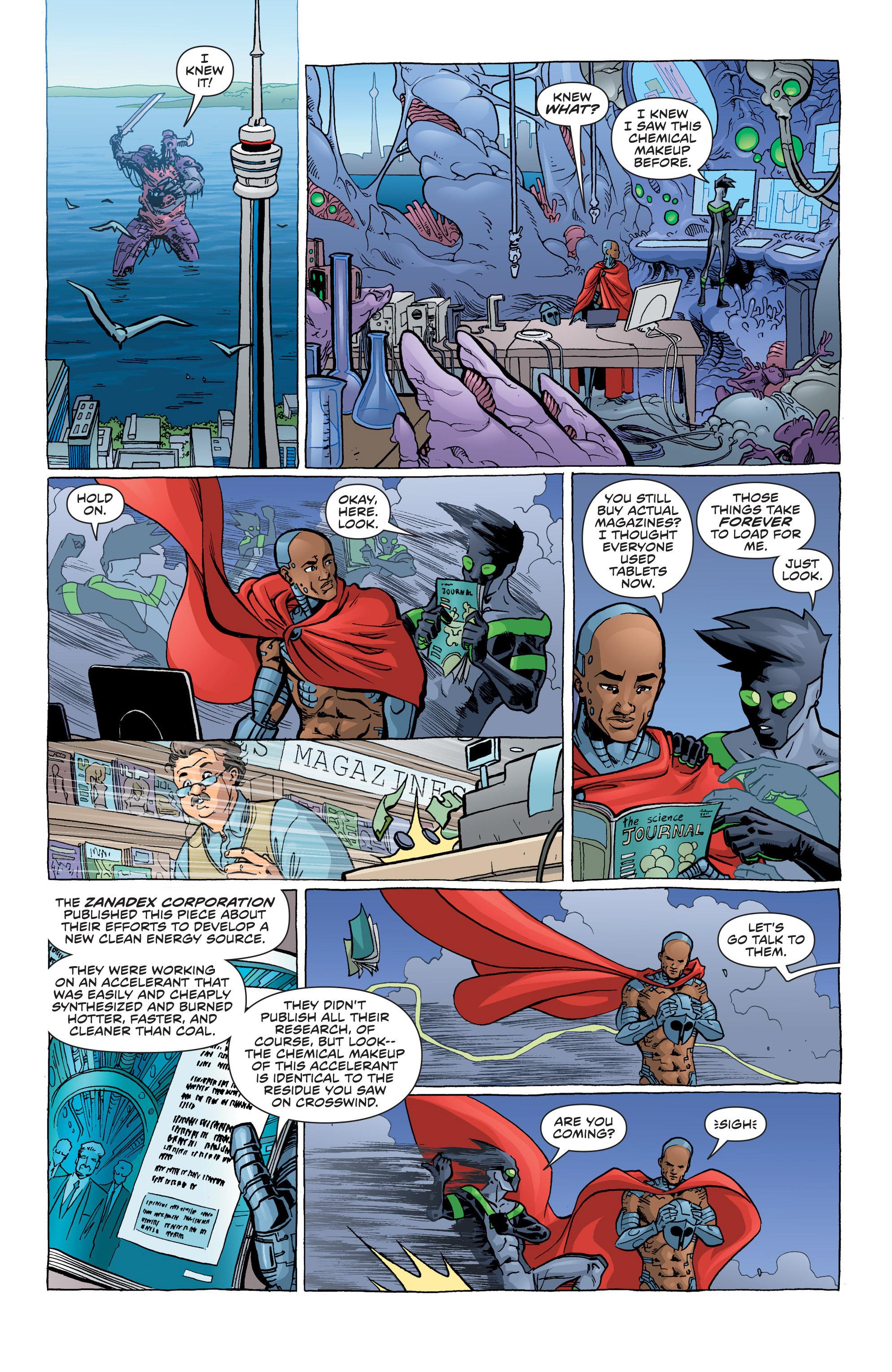 Read online Secret Identities comic -  Issue #3 - 11