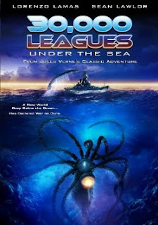 Filme Poster 30.000 Léguas Submarinas DVDRip RMVB Legendado