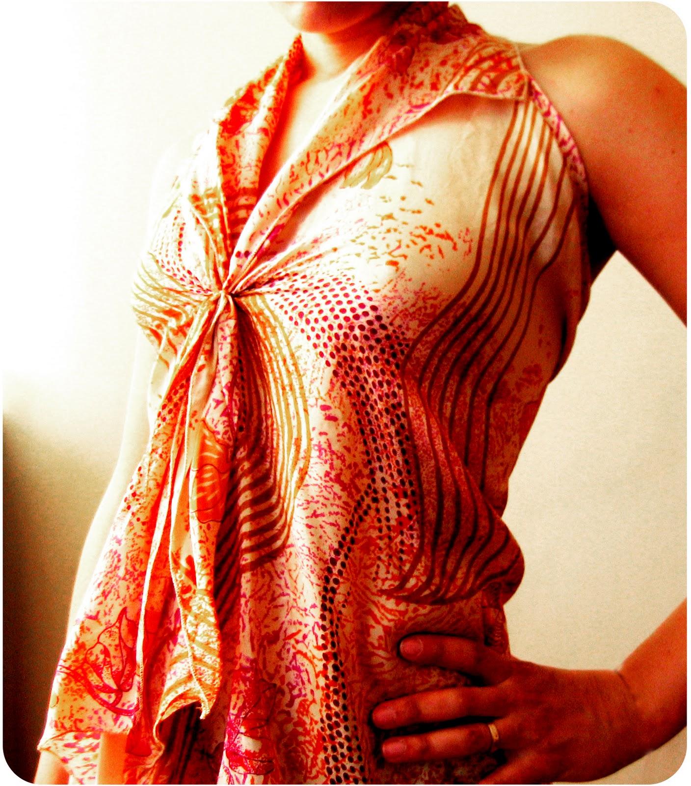 Блуза своими руками из платка МирТесен - рекомендательная социальная сеть 80