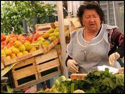 mercato di Campo dei fiori