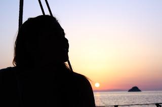 tramonto a Viticcio