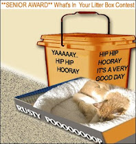 What's in Your Litter Box Senior Award