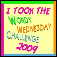 Wordy Wednesday 2009