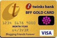 Tack för mitt guldkort