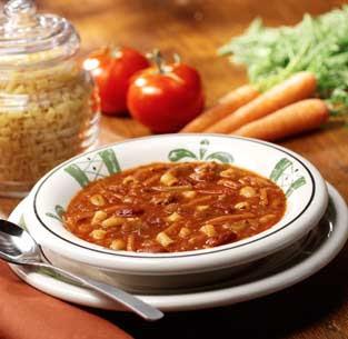 30 Minute Pasta And Kidney Bean Soup Pasta E Fagioli Recipe Dishmaps