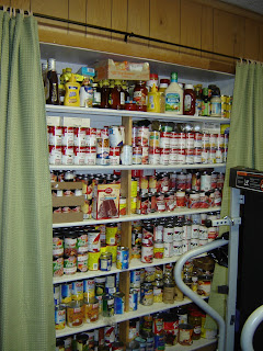 Pictures Of Food Storage Shelves, Pantries And Rooms
