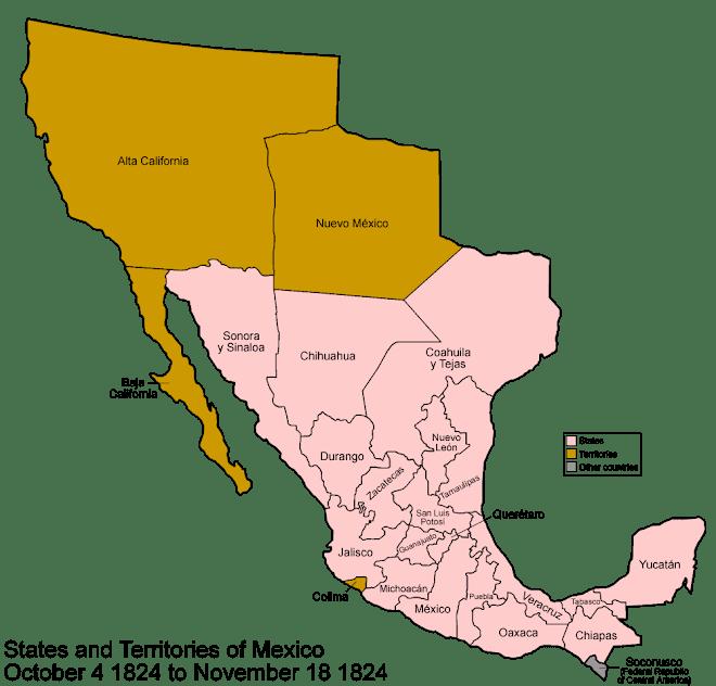 México en 1824
