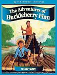Las aventuras de Huckleberry Finn (1885) escrito por Mark Twain,1835-1910