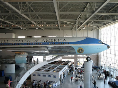 Air Force One, Boeing 707 at Ronald Reagan Presidential Library