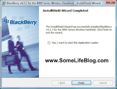 Blackberry 8800 Desktop Manager Client Installation for Microsoft Vista 64-bit (x64) Step 7