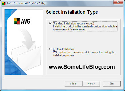 Installation for AVG Free Anti-Virus for Windows Vista Ultimate 64-bit (x64) Guide 3