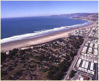 Pismo Beach - Pismo Coast Village RV Resort - Campsite View