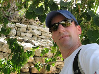 Tulum, Mexico Iguana Picture