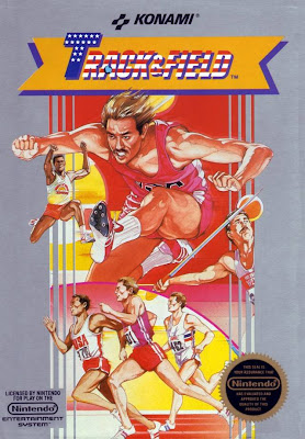 Konami's 1985 release of Track and Field for the Nintendo (NES)