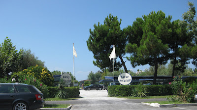 Bagno Sovenir, or the beach club that the family belongs to.  It's nice to hang out here for a couple of days!