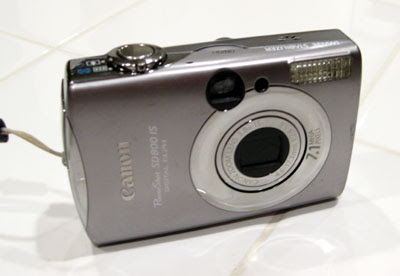 Canon Powershot SD800 IS Returned