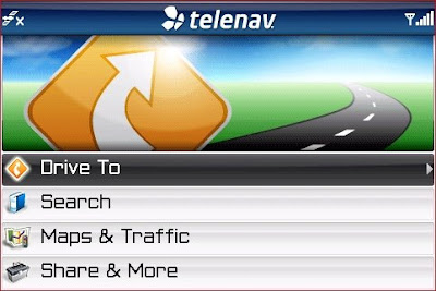 How to download TeleNav GPS Navigator for Blackberry - New Interface on version 5.5