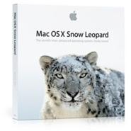 Mac OS X 10.6 Snow Leopard Box Shot for $29