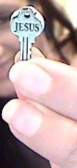 Eu tenho a chave que recebi das mãos do Senhor, por isso sou mais que vencedora!!!