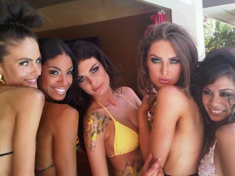 Bellezas ya estan arribando a Las Vegas
