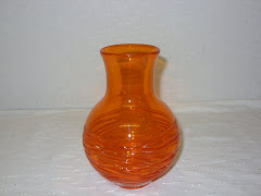 Tangerin Random Strapped Vase