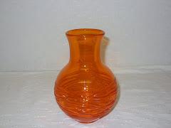 Tangerin Random Strapped Vase