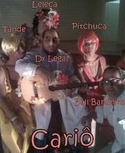 Foto Para o Banner de CARIÔ no Teatro da Escola Parque em Salvador