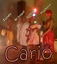 Apresentação de CARIÔ no Teatro da Escola Parque em Salvador