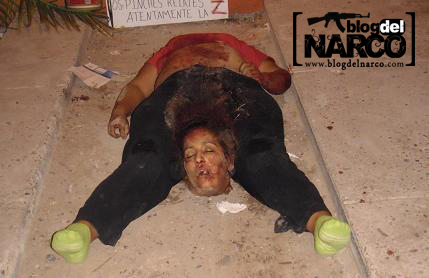 Mexico Cartel Killing Videos http://www.mexdrugcartels.com/2010/10/psychological-warfare.html