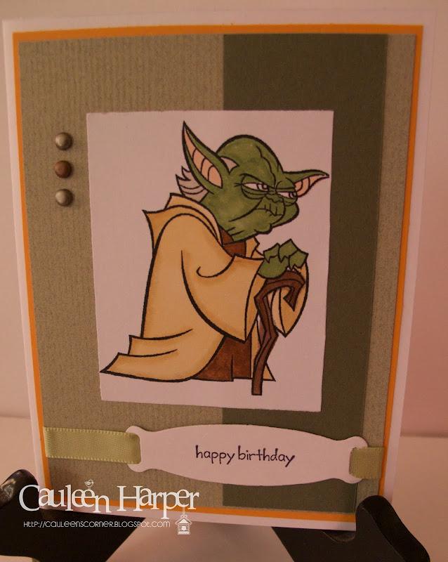 Master Yoda says