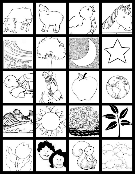 Free printable earth day coloring pages and activities for 7 days of creation coloring pages