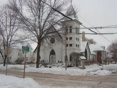 St. Paul's Church---Evansville, Wisconsin