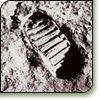 Maan - voetafdruk