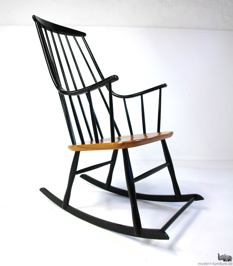 modernhaus ilmari tapiovaara mademoiselle high back rocking chair. Black Bedroom Furniture Sets. Home Design Ideas
