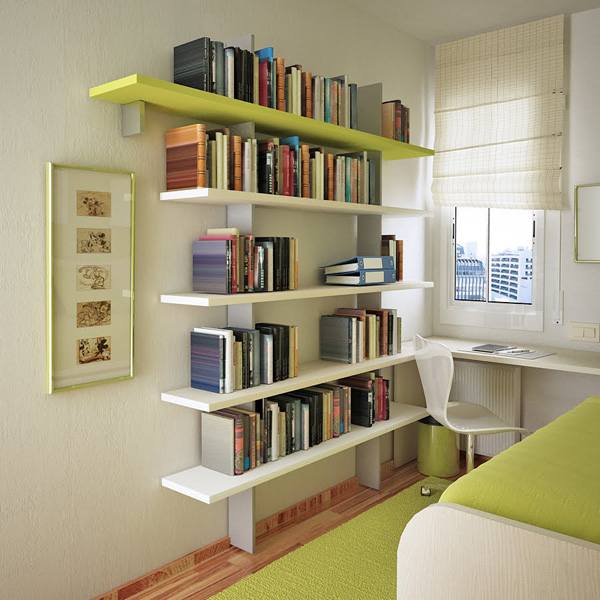 Interiores casa interiores casa lindos arreglos de dormitorios para adolescentes - Small space storage solutions for bedroom ideas ...