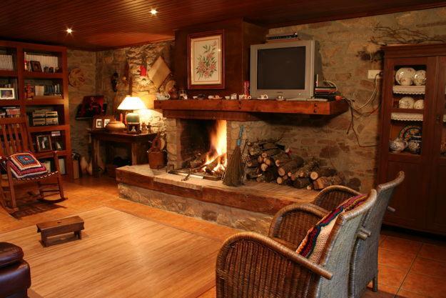 decorar cozinha rustica:Salas De Casas Rusticas