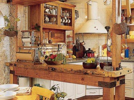 Rendas e paet s eu minha cozinha - Decoracion de casas rusticas pequenas ...