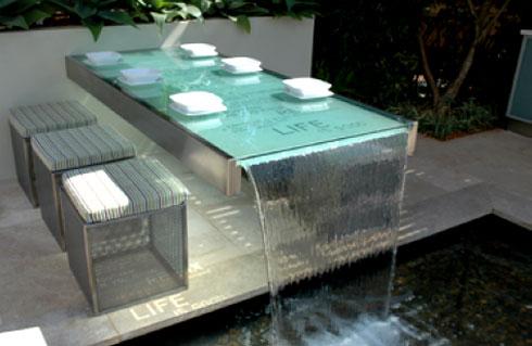 Ideias decora o mesas vidro ideias decora o mobili rio for Paredes sensoriales